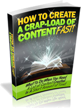 Create A Load Of Content Fast